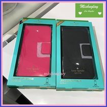 【kate spade】7月新色★black or radish★iPhone7 case★手帳
