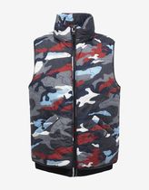 MONCLER(モンクレール) ダウンベスト SALE! 送料関税込!2017SS新作 MONCLER Camouflage  Gilet