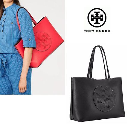 ☆Tory Burch☆PERFORATED-LOGO TOTE