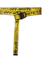 Off-White オフホワイト ベルト Industrial embroidered belt