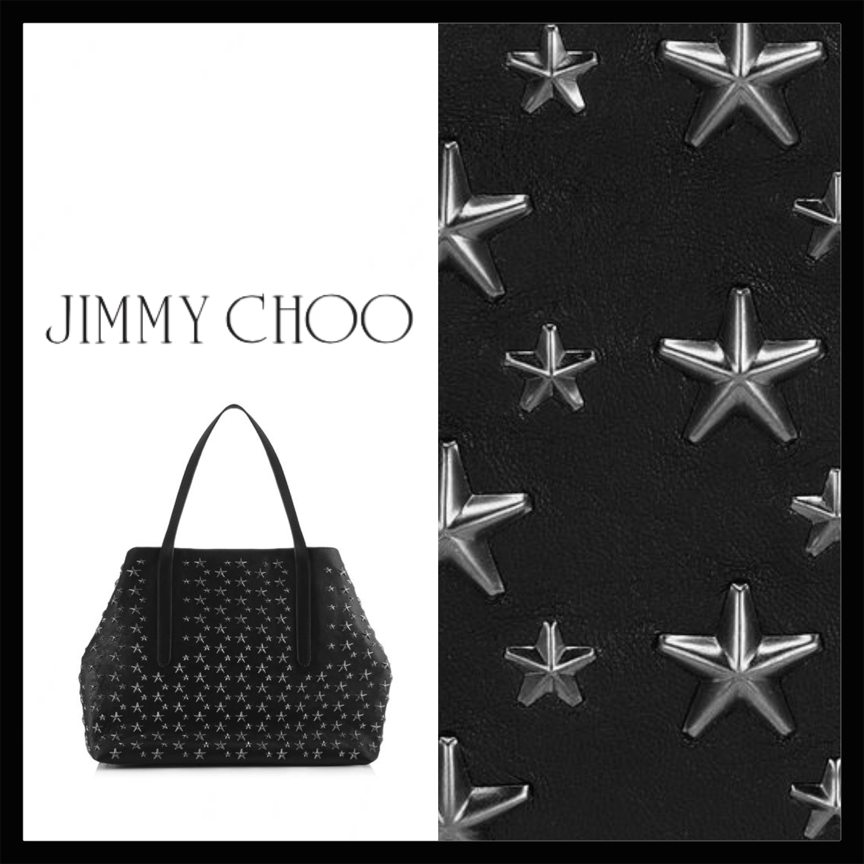 Jimmy Choo PIMLICO レザー・トートバッグ PIMLICOCST ☆