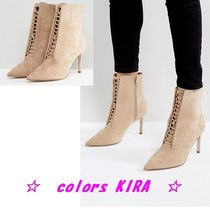 ASOS EGO Point Lace Up Boots♪
