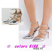 ASOS PALACE Wide Fit Pointed Heels♪