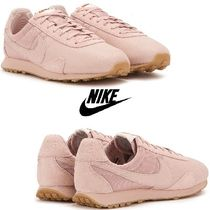 Nike Pre Montreal Premium Leather Sneakers ピンク 関送無料