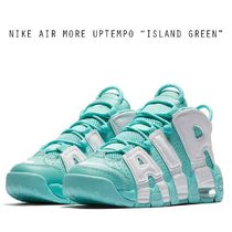 "NIKE AIR MORE UPTEMPO GS ""ISLAND GREEN"" グリーン 小サイズ"