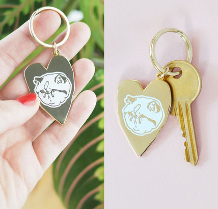 ☆☆helloharriet☆☆ Sad Cat's Clubhouse Keychain