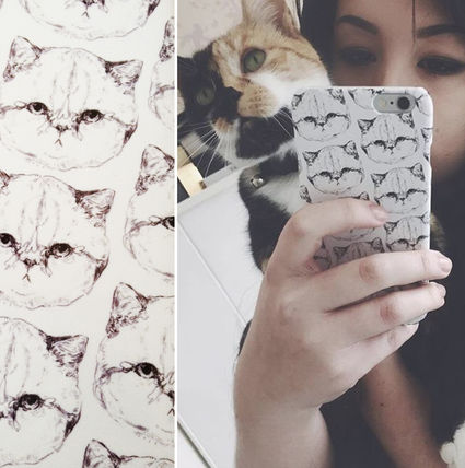 〓helloharriet〓 Grumpy Kitty's iPhone 6/6S case