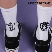 A PIECE OF CAKE(ピースオブケイク) タイツ・ソックス A PIECE OF CAKE★韓国の人気商品★Mismatched Socks(WH)