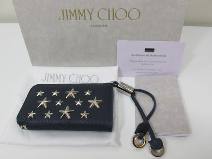 Jimmy Choo★セール★ROMA PEARLIZED COIN CASE 即発送可能♪