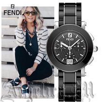 ★関税・送料込み★ Fendi Ceramic Stainless Steel F661110