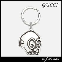 17AW 国内発 関税込 GUCCI Gucci Ghost   キーチェーン