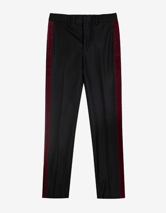 SALE! 送料関税込!2017SS新作 GIVENCHY Black Wool Trousers