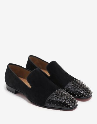 送料関税込!2017SS新作 christian louboutin Spikes Loafers