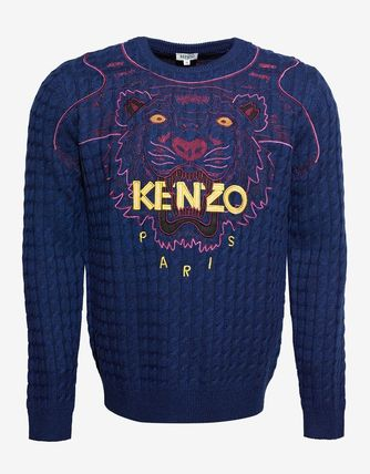 SALE! 送料関税込!2017SS新作 KENZO  Wool Blend Sweater
