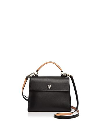 ☆Tory Burch新作☆Parker Color Block Small Leather Satchel