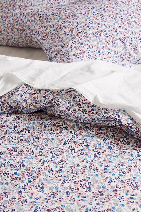 最安値*関送込【Anthro×Liberty】Bonnie Bloom Duvet☆TWIN