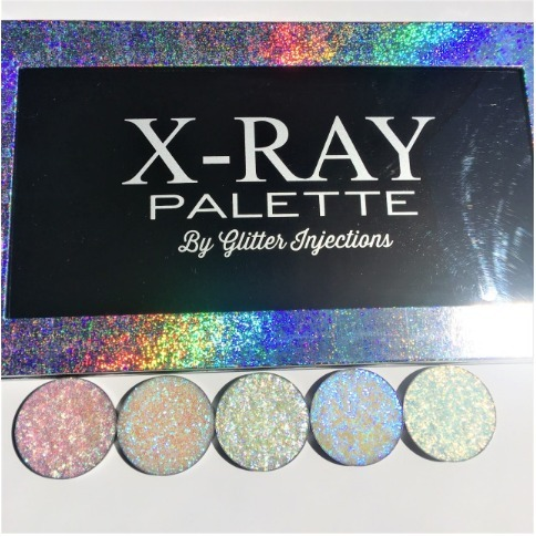 ☆GLITTER INJECTIONS渡辺直美さんご愛用CHUNKY5 XRAY PALTTE☆
