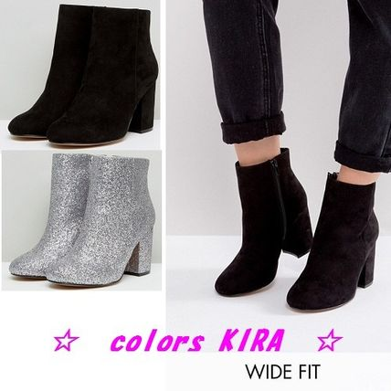 ASOS RAQUEL Wide Fit Ankle Boots♪2色