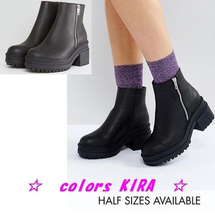ASOS RAPID Chunky Ankle Boots♪