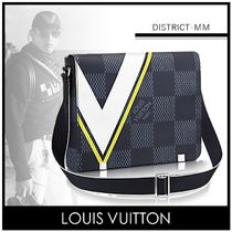 Louis Vuitton(ルイヴィトン) ショルダーバッグ Louis Vuitton★国内発送 ディストリクトMM ダミエ バッグ 黄色