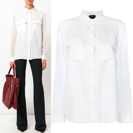 17-18AW TF048 DOUBLE GEORGETTE BLOUSE