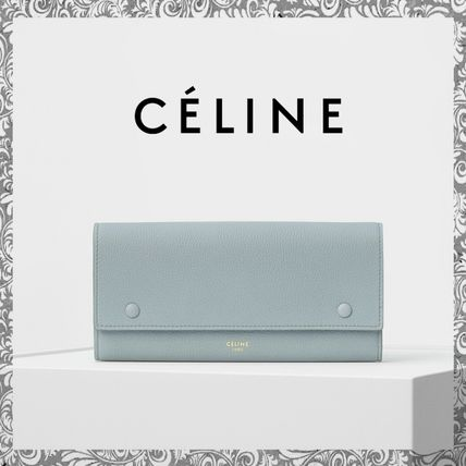 超入手困難色入荷!CELINE  LARGE FLAP MULTIFUNCTION 長財布 ☆