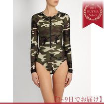 THE UPSIDE(ジアップサイド) トップスその他 海外限定★Camouflage performance paddle suit
