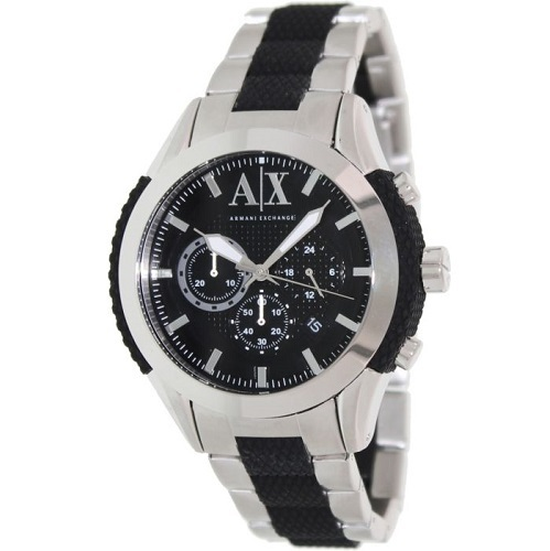 【Armani Exchange】Silver Stainless・2Tone★Fashion Watch