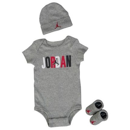 Jordan Colorblock Jordan 3 Piece Creeper Set - Boys Infant