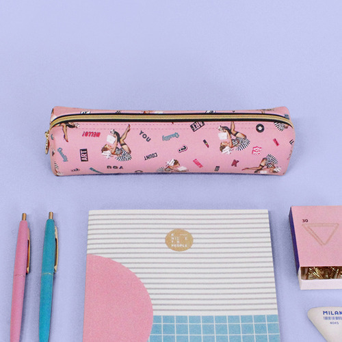 ★Marianne Kate★ Lucky Dog Pencil Pouch