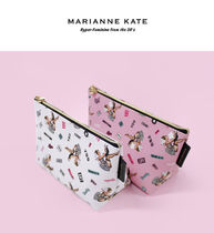 Marianne kate(マリアンケイト) メイクポーチ ★Marianne Kate★ Lucky Dog Stand Pouch