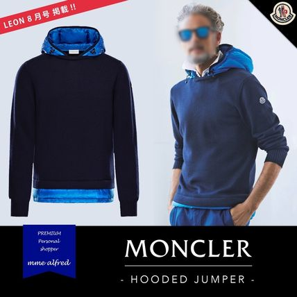 【17AW】MONCLER/モンクレール★ HOODED JUMPER LEON掲載