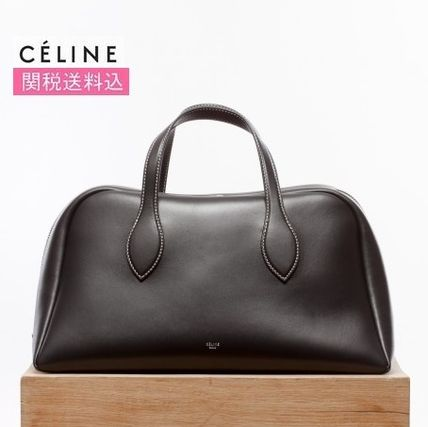 関税込みCELINE★ Bowling medium bag ブラック
