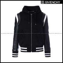 GIVENCHY(ジバンシィ) ブルゾン 【GIVENCHY】neoprene bomber jacket with nappa leather