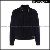 GIVENCHY(ジバンシィ) ブルゾン 【GIVENCHY】denim jacket with zipper detail(17F0910462001)