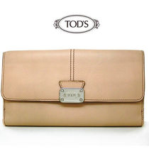 TODS 長財布 フラップ式 トッズ w000111