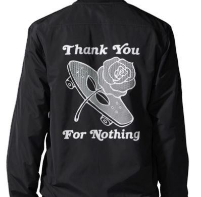 【Adidas】VARSITY JACKET着心地良い軽さ Thank You for Nothing