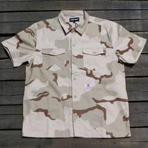 UNDEFEATED(アンディフィーテッド) Tシャツ・カットソー 送料無料Undefeated Men Camo BDU Shirt  メンズ シャツ