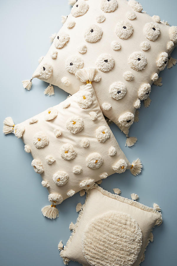 18AW☆最安値&関税送料込【Anthro】Tufted Amal Floor Pillow