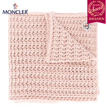 TOPセラー賞受賞!17/18秋冬┃MONCLER★KNIT SCARF_ペールピンク