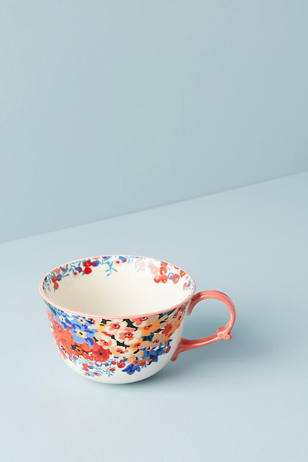18AW*最安値*関送込【Anthro×Liberty】Wiltshire Garden Teacup