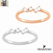 【SWAROVSKI】 FRISSON MIXED CUTS リング 2色