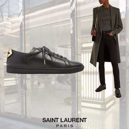 【17AW】Saint Laurent/Court Classic lips applique スニーカー