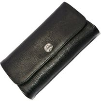 SALE!!! ◆CHROME HEARTS JUDY BLACK Heavy Leather wallet◆