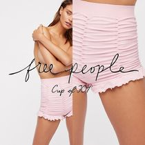 Free People(フリーピープル) フィットネスボトムス フィットネスボトムスでのびのびと!Ruched Seamless Shorts