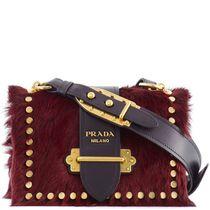 PR600 CAHIER SHOULDER BAG IN PONY HAIR & CALF LEATHER