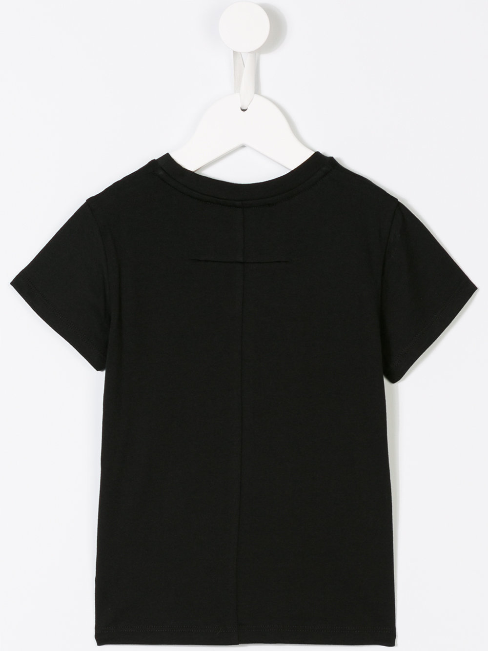 17AW GIVENCHY 大人もOK 8-14歳 ロゴ(小)半袖 T シャツ 黒