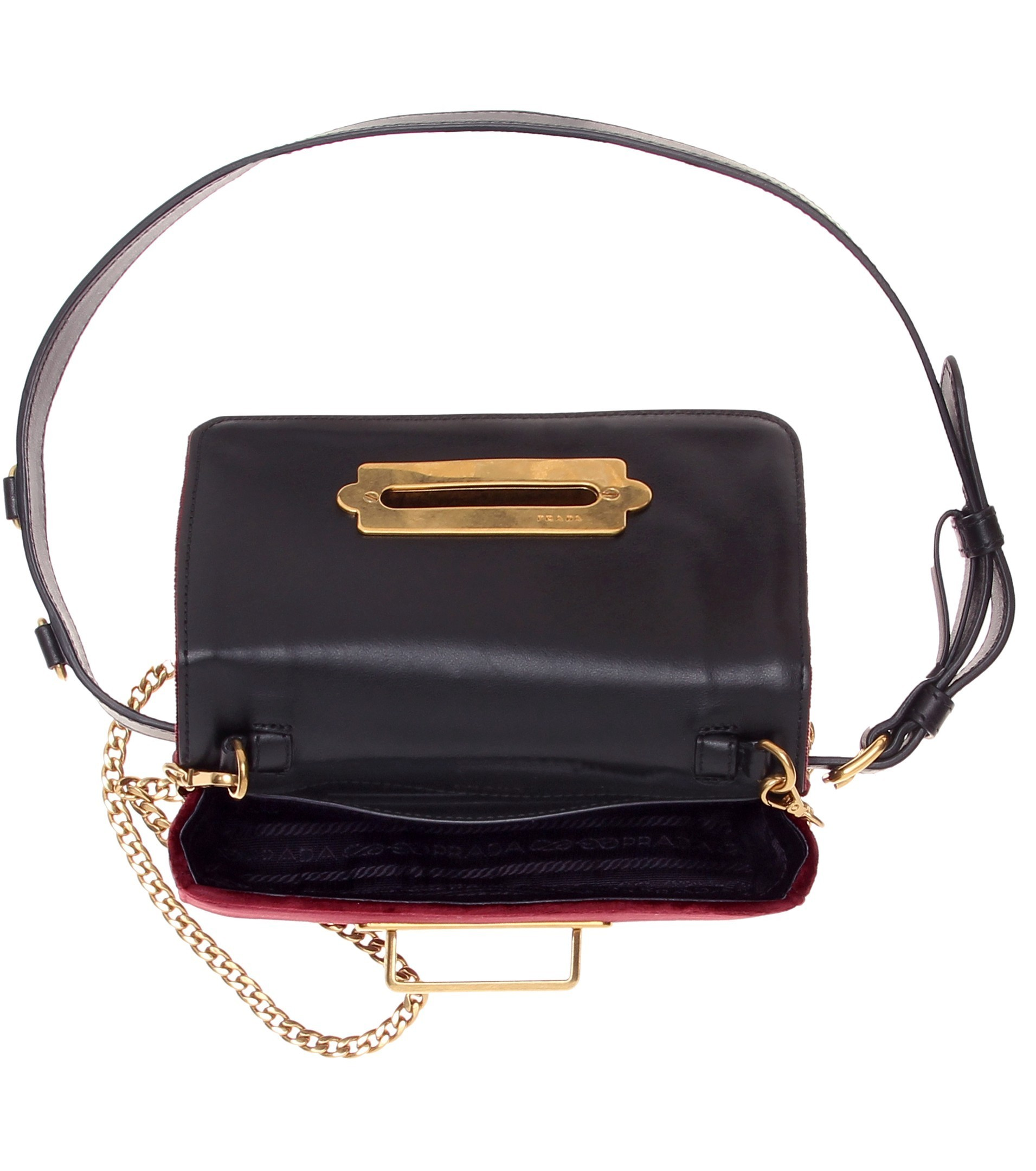 PR604 CAHIER FANNY PACK WITH METAL CHAIN