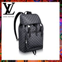 Louis Vuitton(ルイヴィトン) バックパック・リュック 【直営店買付】ヴィトン バックパック ZACK SAC A DOS ダミエ
