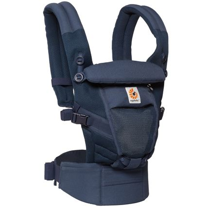 ★NEW Ergobaby Adapt Baby Carrier クールエア/ディープブルー